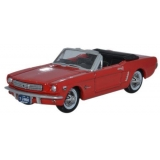 Oxford Diecast HO. 1965 Ford Mustang,Red