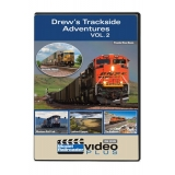 Kalmbach DVD. Drew's Trackside Adventu..