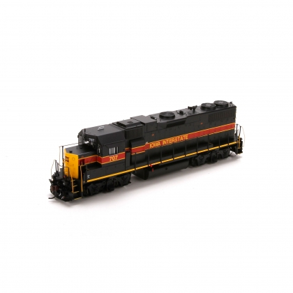 Athearn Genesis HO. Emd GP38-2 Ph 1,Iowa Interstate 707