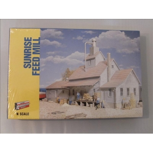Walthers.Sunrise Feed Mill kit