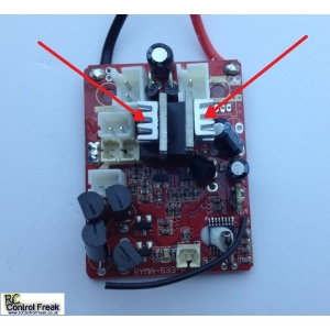 RC Helicopter PCB Circuit Bo..