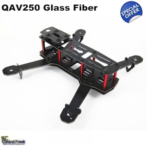 H250 Fiberglass 250mm Mini FPV Quadcopter Kit 4 ..