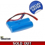 7.4v 1500mAh Li-Ion Battery RC Helicopter, Quadcopter, Plane - Upgrade