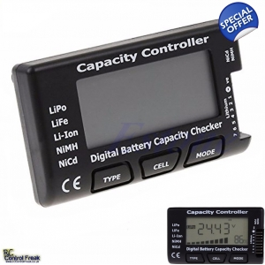Battery Checker Capacity Cel..