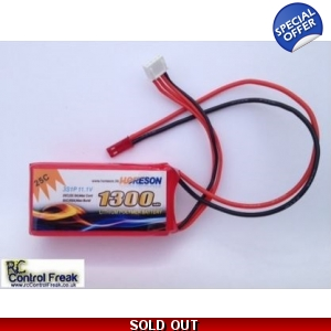 FXD Flame Strike RC Helicopter 11.1v 1300mAh Li-..