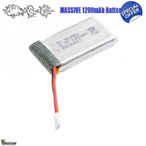1200mAh Upgrade Li-Po Batter..