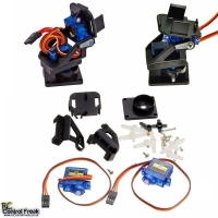 Pan/Tilt Servo Camera Mount Platform Anti-Vibration Aircra..