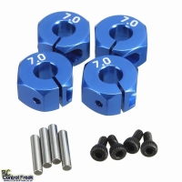 1:10 RC Car Aluminium 7.0 Wheel Hex Nut 12mm HSP HPI Tamiy..