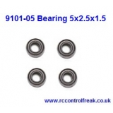 Double Horse 9101-05 Bearing 5x2.5x1.5