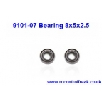 Double Horse 9101-07 Bearing 8x5x2.5 Details