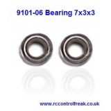 Double Horse 9101-06 Bearing 7x3x3