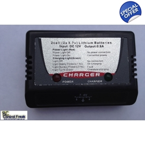 RC Helicopter Battery Charger Box - 7.4v Balance..