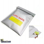 Li-Polymer LIPO, NICDs, NIMHs Battery Fireproof Charge Bag 18x22cm