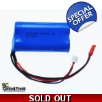 RC Helicopter Battery - 7.4v Li-ion 1300mAh