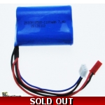 RC Helicopter Battery - 7.4v Li-ion 1100mAh