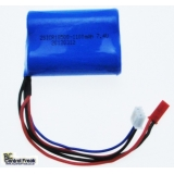 RC Helicopter Battery - 7.4v Li-ion 11..