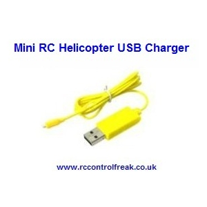 Mini RC Helicopter USB Charger Lead