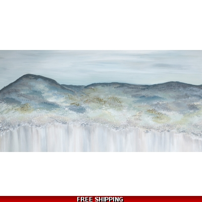 Heather Mountain Canvas Print