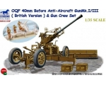 Bronco OQF 40mm Bofors Anti-Aircraft Gun Mk. I I..
