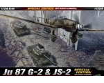 Academy Ju 87 G-2 & JS-2 Special Edition with Lt..
