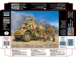 Master Box Italian military men WWII era 1/35