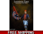 MJ Miniatures Louisiana Tiger American Civil War..
