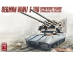 Modelcollect RGerman WWII E-100 w/128mm flak 40 ..