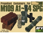 AFV Club Propellant containers for M103 A1-A4 SP..