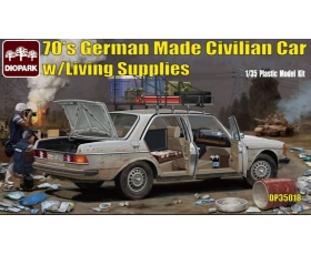 Diopark 70's German Made Civilian Car with Living Supplies 1/35