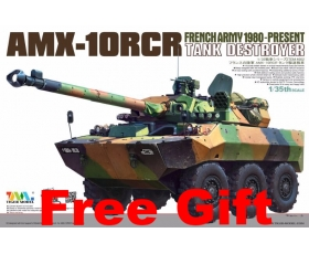 Tiger Model French AMX-10RCR Tank destroyer 1/35
