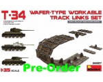 MiniArt T-34 WAFER-TYPE WORKABLE TRACK LINKS SET..