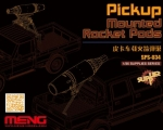 Meng Model Pickup Mounted Rocket Pods 1/24