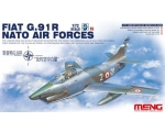 Meng Model  FIAT G.91 R NATO AIR FORCES 1/72