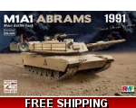 Rye Field Model M1A1 Abrams Gulf War 1991 1/35