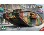 Takom WWI Heavy Battle Tank Mk.IV 2in1 - Special..