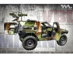 Tiger Model Panhard VBL with Milan Anti-Tank Mis..