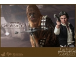 Hot Toys Star Wars 1/6 Han Solo and Chewbacca Do..