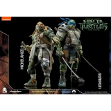 ThreeZero TMNT Movie-Leonardo & Michel..