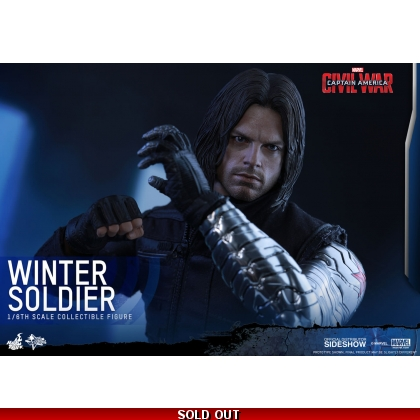 Hot Toys Captain America: Civil War - 1/6th scale Winter Soldier Collectible Figure