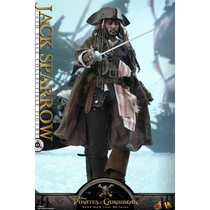Hot Toys Pirates of the Caribbean: Dead Men Tell No Tales 1/6th scale Jack Sparrow Collectible Figure