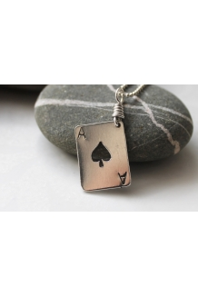 Sterling Silver Ace of ..
