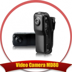 Miniature DV DVR Video Camera Spy camera MD80 spycam DC