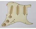 AGED WHITE Pickguard for 1964 Stratocaster + Kno..