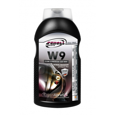 W9 2 in 1 Premium Glaze Wax 1Ltr