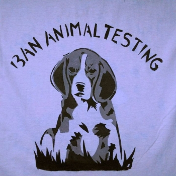 Ban Animal Testing Beagle