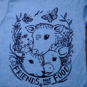 NEW Friends Not Food