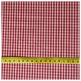 Small Gingham - Red