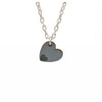 Bottom of my heart Charm Necklace