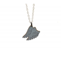 Guardian Angel Wings Charm Necklace
