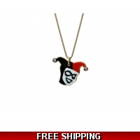 Harley Quinn Bejeweled Charm neck..